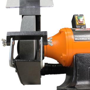 WorkMan CH300 мощный заточной станок 300 мм с системой пылеудаления