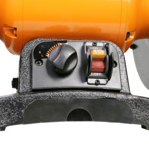 Точило 200 мм WorkMan TLG200VL с регулировкой оборотов