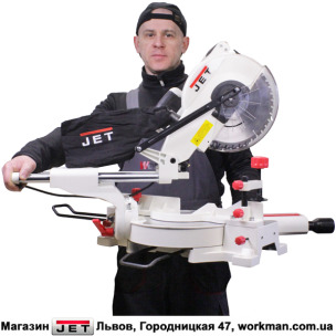 Торцовочно-усовочная пила JET JSMS-10L