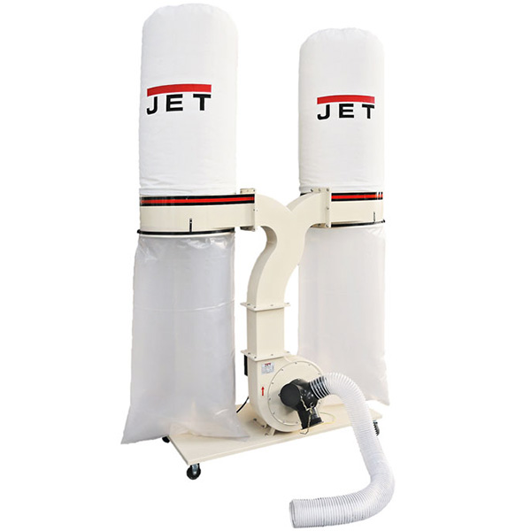 Витяжна установка JET DC-2300-230 на два мішка
